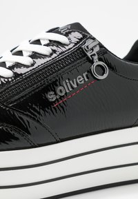 s.Oliver - Sneakers laag - black - 2