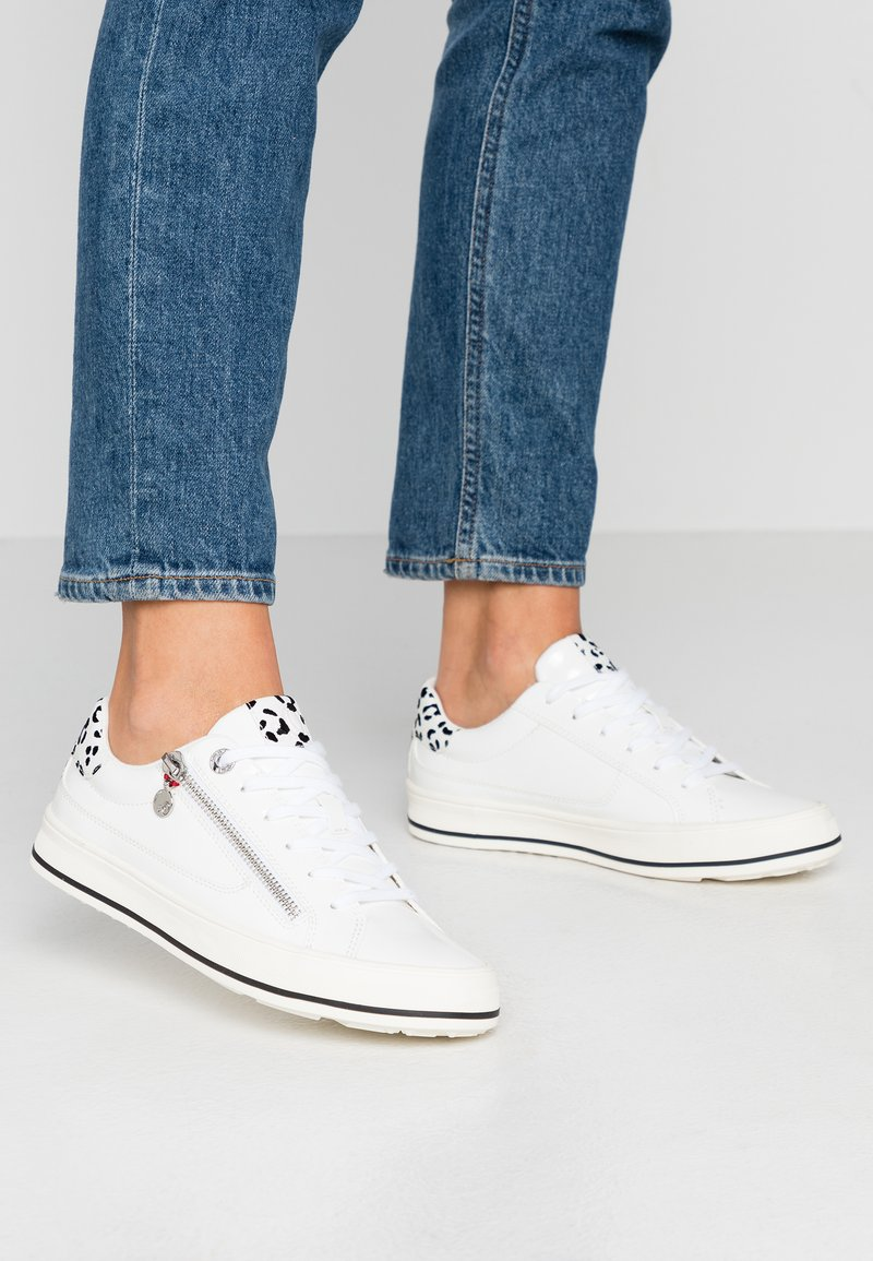 s.Oliver - Sneakers laag - white