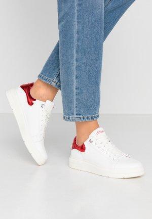 Tenisky - white/red
