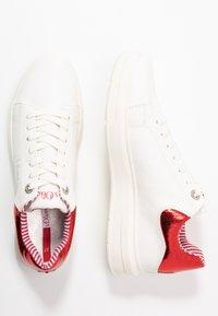 s.Oliver - Tenisky - white/red - 3