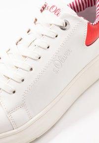 s.Oliver - Tenisky - white/red - 2