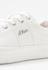 s.Oliver - Tenisky - white/silver - 2