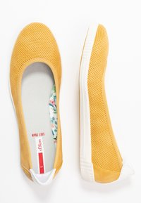 s.Oliver - Ballet pumps - yellow - 3