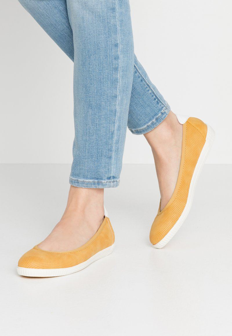 s.Oliver - Ballet pumps - yellow