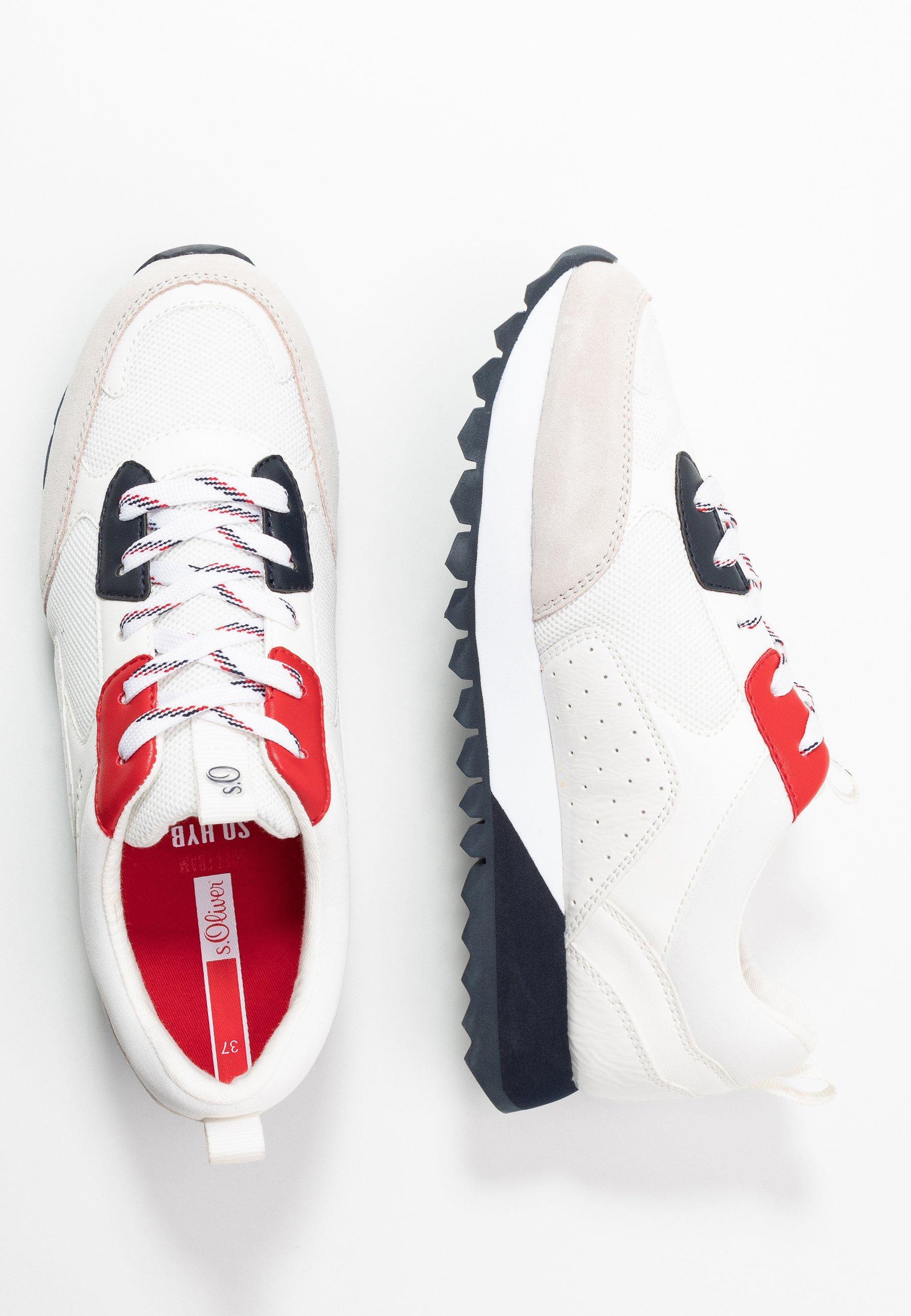s.Oliver Sneakersy niskie - white