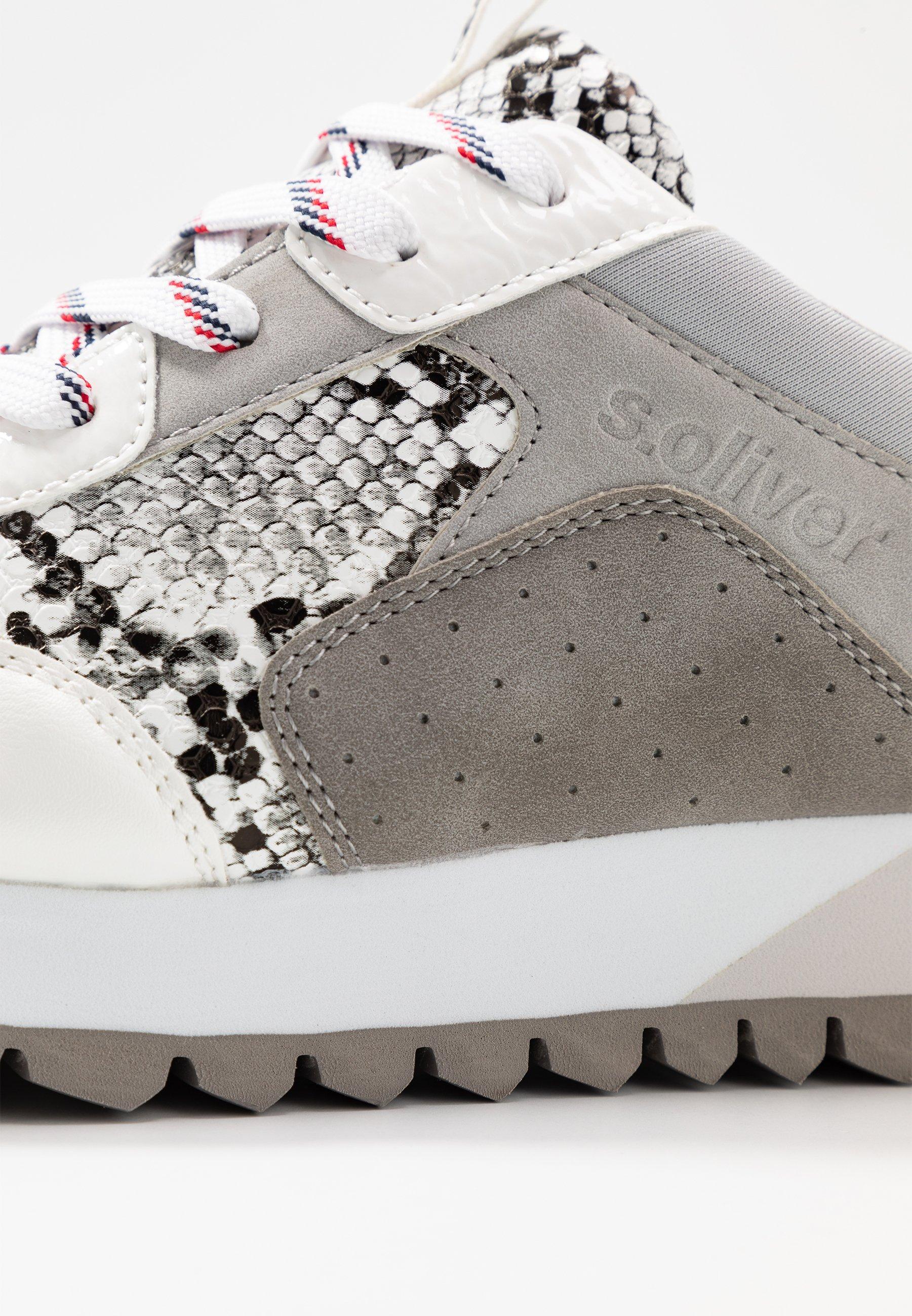 s.Oliver Sneakersy niskie - grey