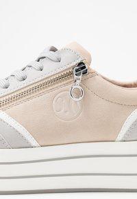 s.Oliver - Trainers - light grey/light rose - 2