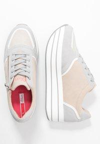 s.Oliver - Trainers - light grey/light rose - 3