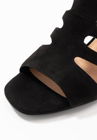 s.Oliver - Ankle cuff sandals - black - 2