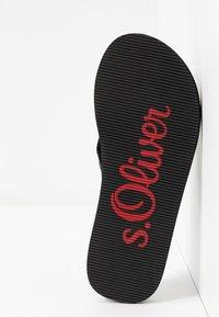 s.Oliver - Infradito - black - 6