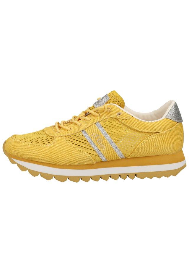 S.OLIVER SNEAKER - Sneakers - saffron 601