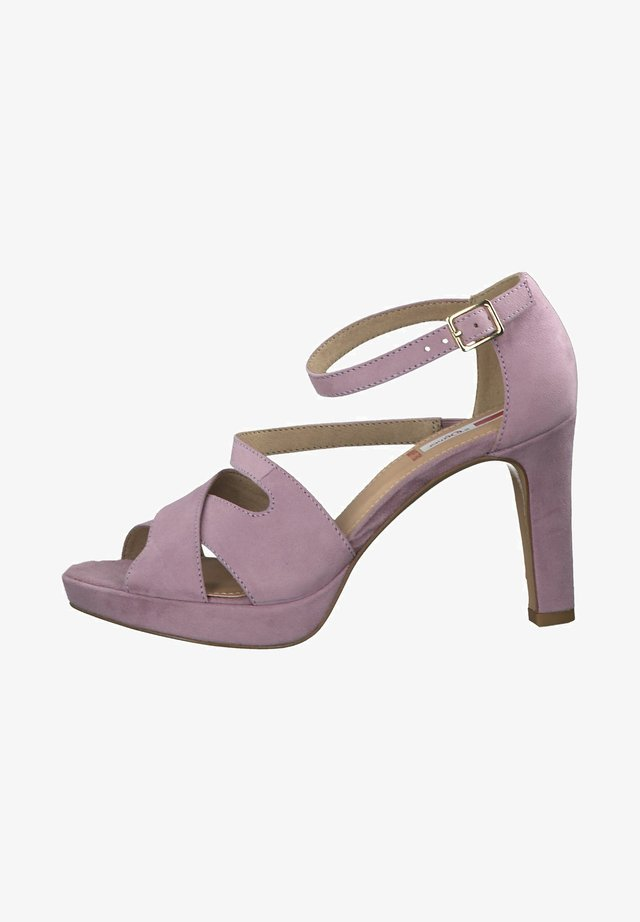 High Heel Sandalette - lilac