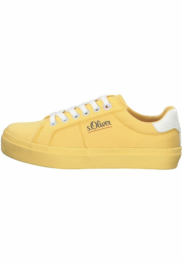 S.OLIVER - Sneakers - yellow