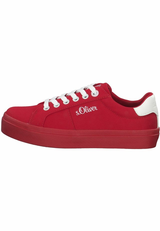 S.OLIVER - Sneakers laag - red
