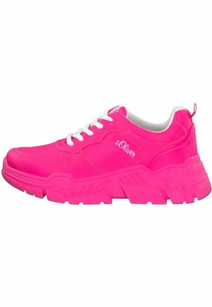 S.OLIVER - Sneakersy niskie - fuxia