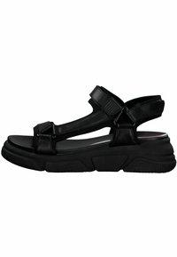 s.Oliver - S.OLIVER - Platform sandals - black - 0