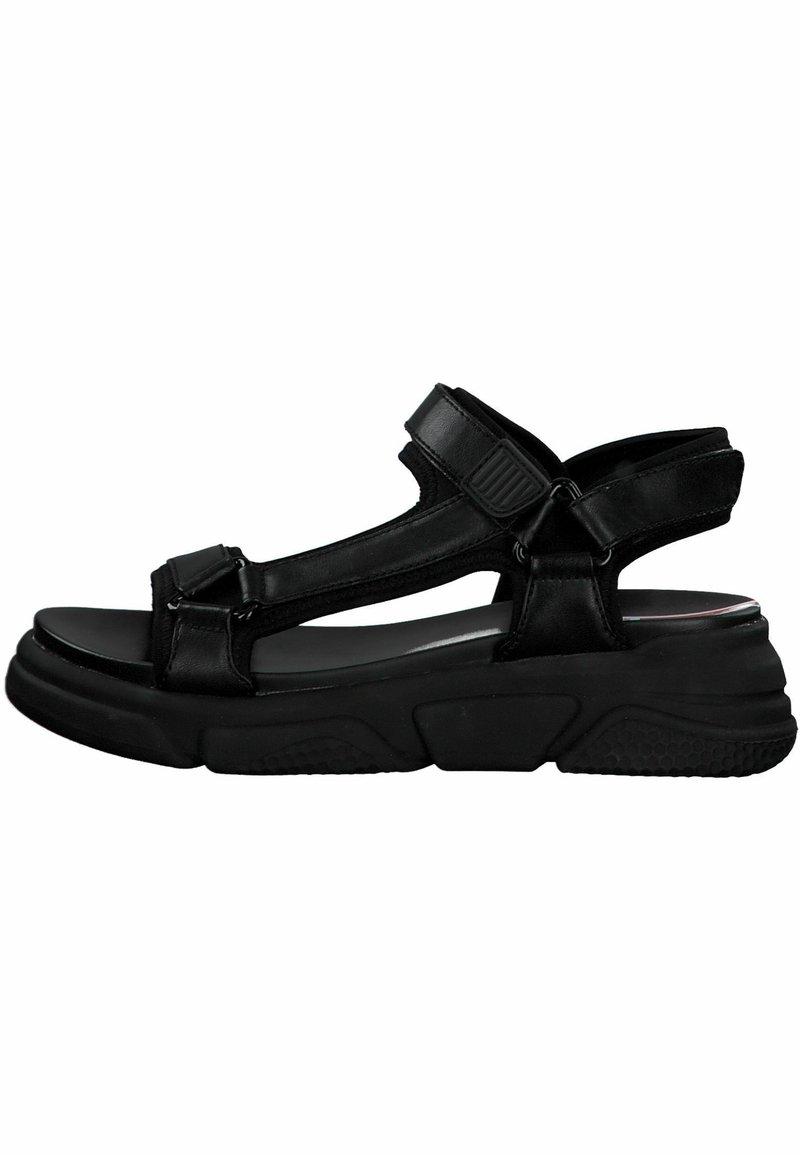 s.Oliver - S.OLIVER - Platform sandals - black