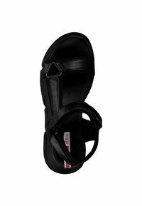 s.Oliver - S.OLIVER - Platform sandals - black - 3