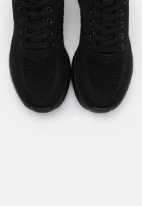s.Oliver - LACE UP - Trainers - black - 5