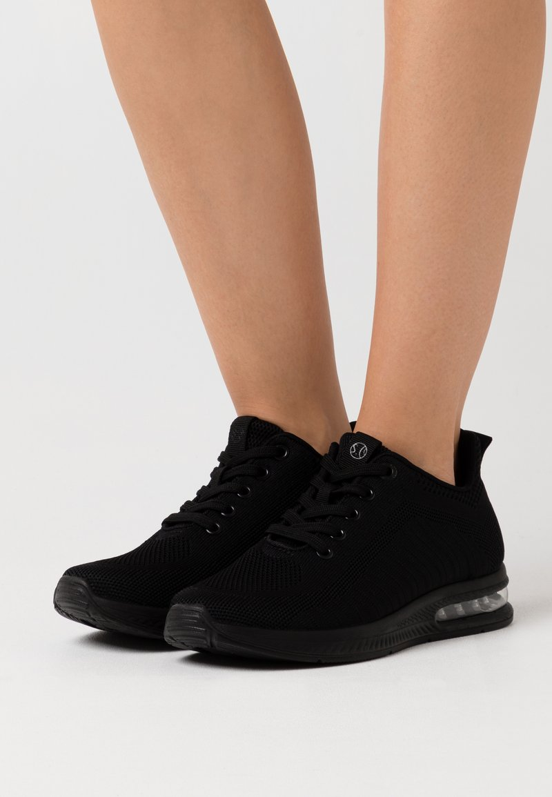 s.Oliver - LACE UP - Trainers - black