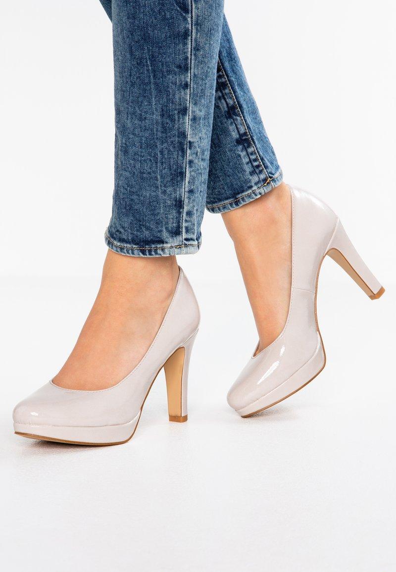 s.Oliver - High Heel Pumps - light grey