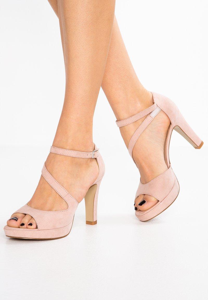s.Oliver - Korolliset sandaalit - rose