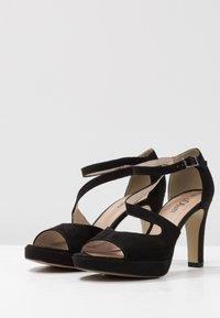 s.Oliver - High heeled sandals - black - 4