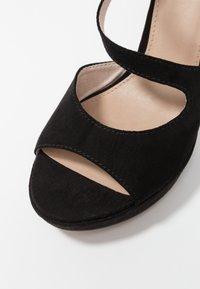 s.Oliver - High heeled sandals - black - 2