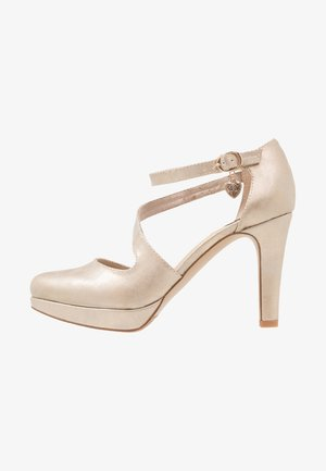 High Heel Pumps - rose metallic