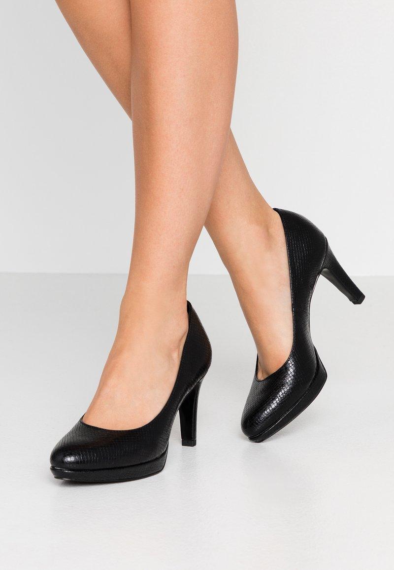 s.Oliver - Platform heels - black