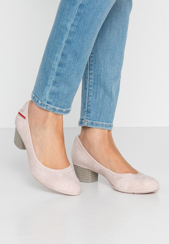 Klassieke pumps - light rose