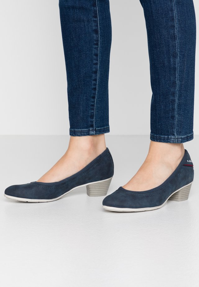 Klassiske pumps - denim