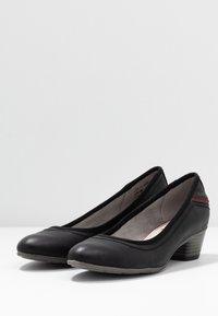 s.Oliver - Klassieke pumps - black - 4