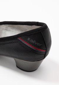 s.Oliver - Klassieke pumps - black - 2
