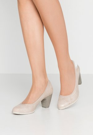 Pumps - nude rose
