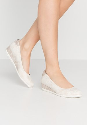 Wedges - nude