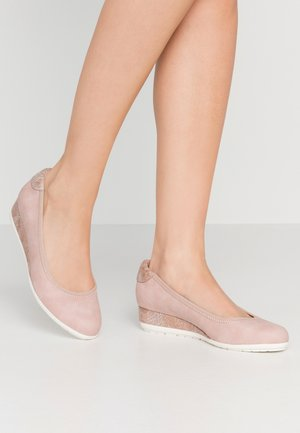 Wedges - rose