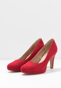 s.Oliver - High heels - red - 4