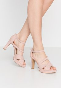 s.Oliver - Sandaler med høye hæler - rose - 0