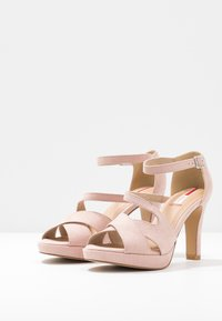 s.Oliver - Sandaler med høye hæler - rose - 4