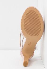 s.Oliver - Sandaler med høye hæler - rose - 6