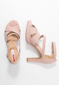 s.Oliver - Sandaler med høye hæler - rose - 3