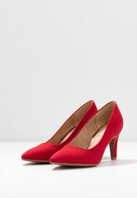 s.Oliver - Klassieke pumps - red - 4