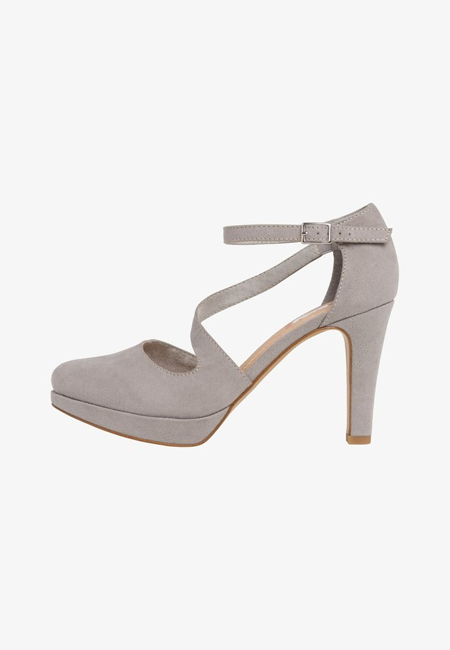 S.OLIVER PUMPS - High Heel Pumps - grey