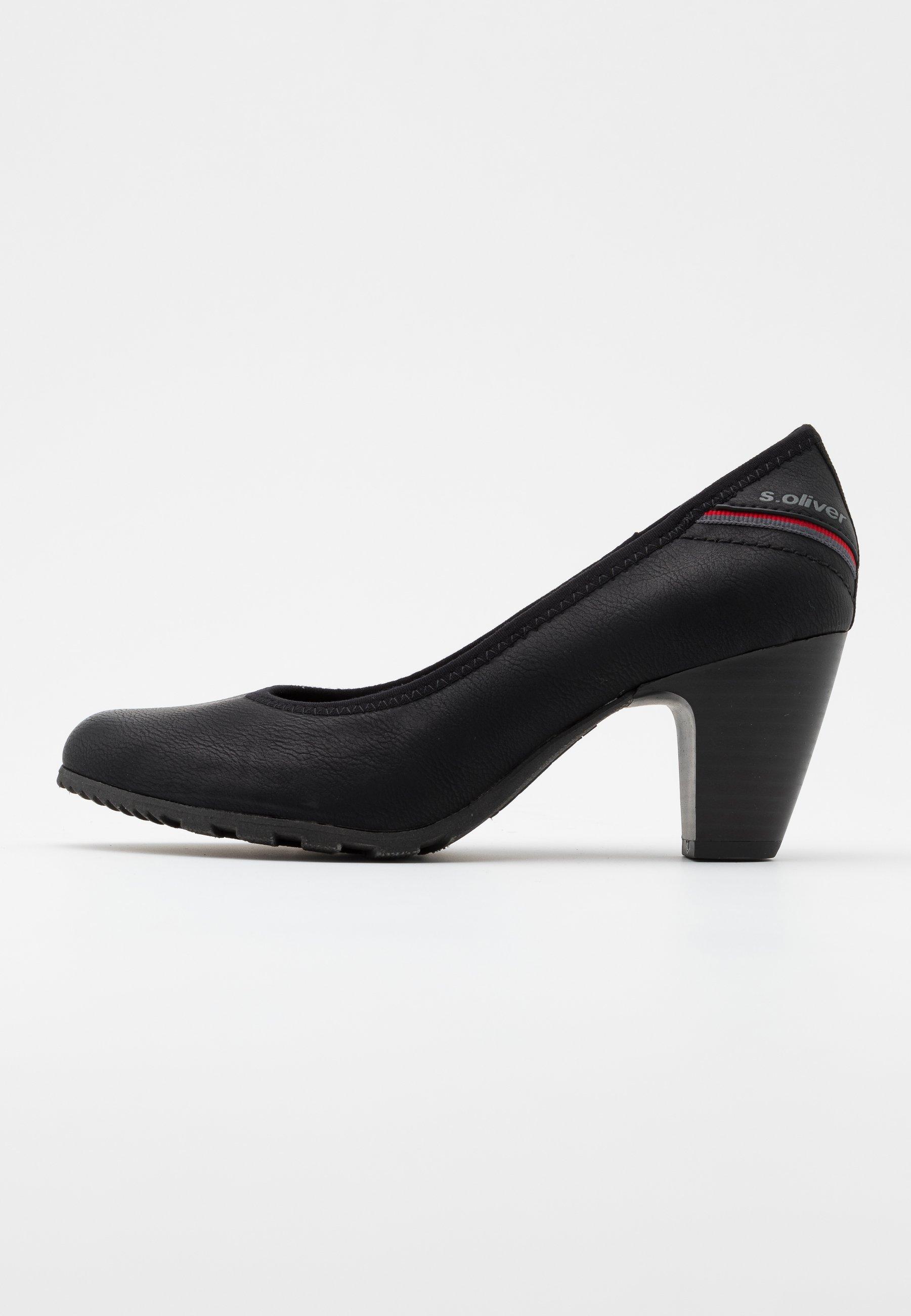 S.oliver Court Shoe - Decolleté Black Zp378