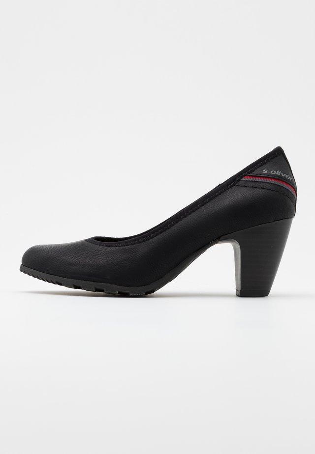 COURT SHOE - Classic heels - black