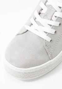 s.Oliver - Sneakers laag - light grey metallic - 2
