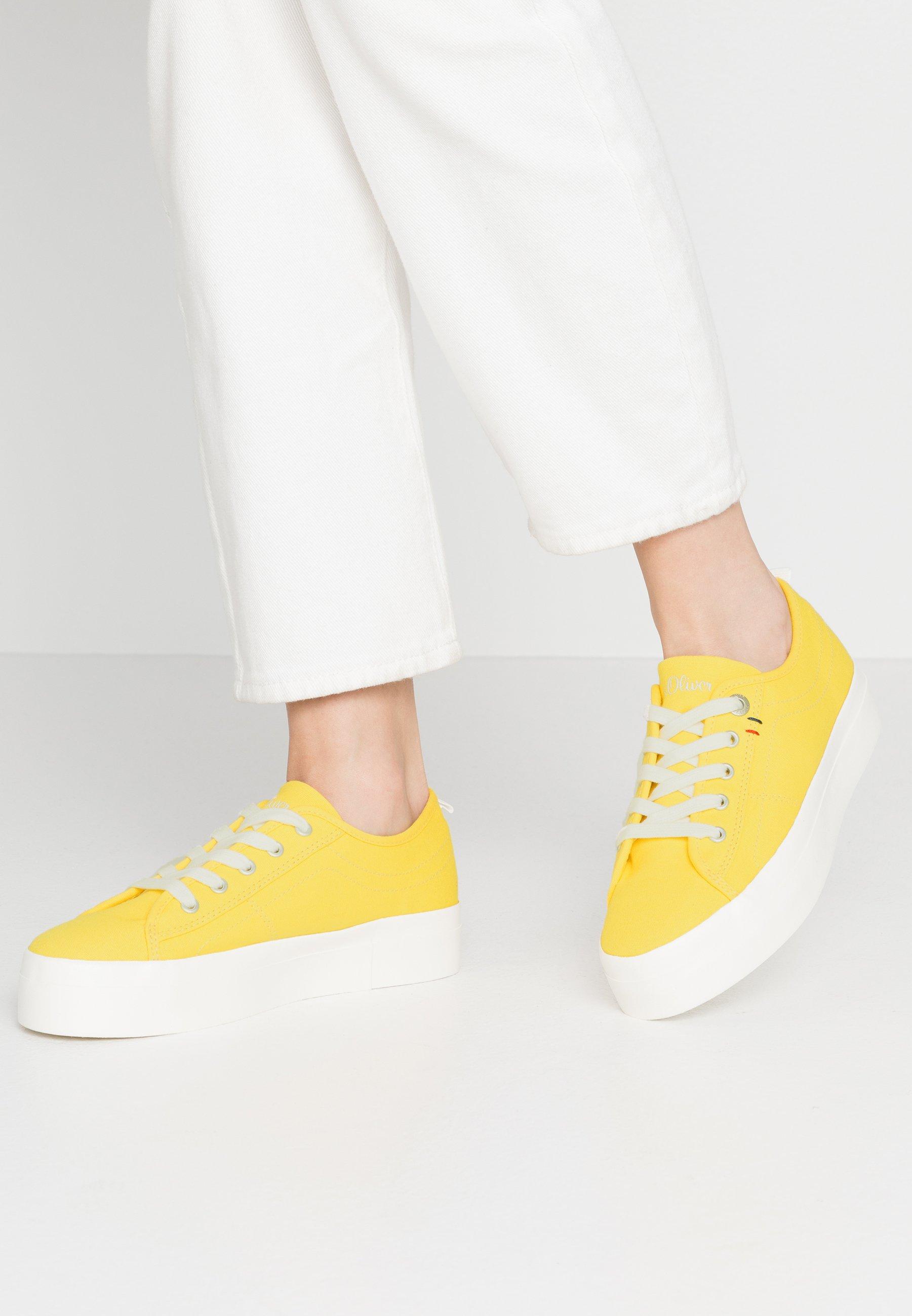 S.oliver Zapatillas - Yellow