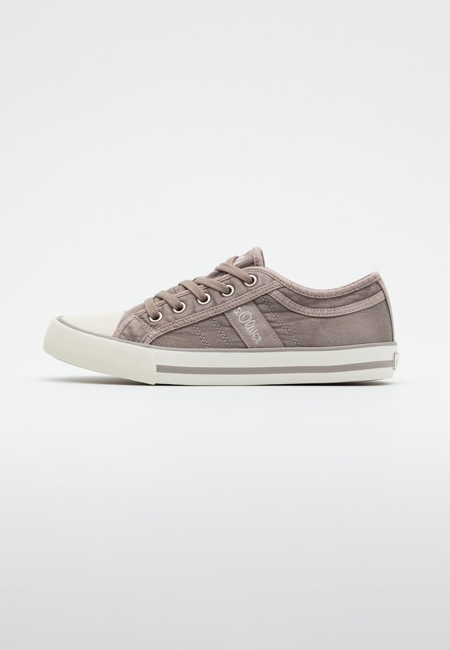 LACE UP - Trainers - light grey