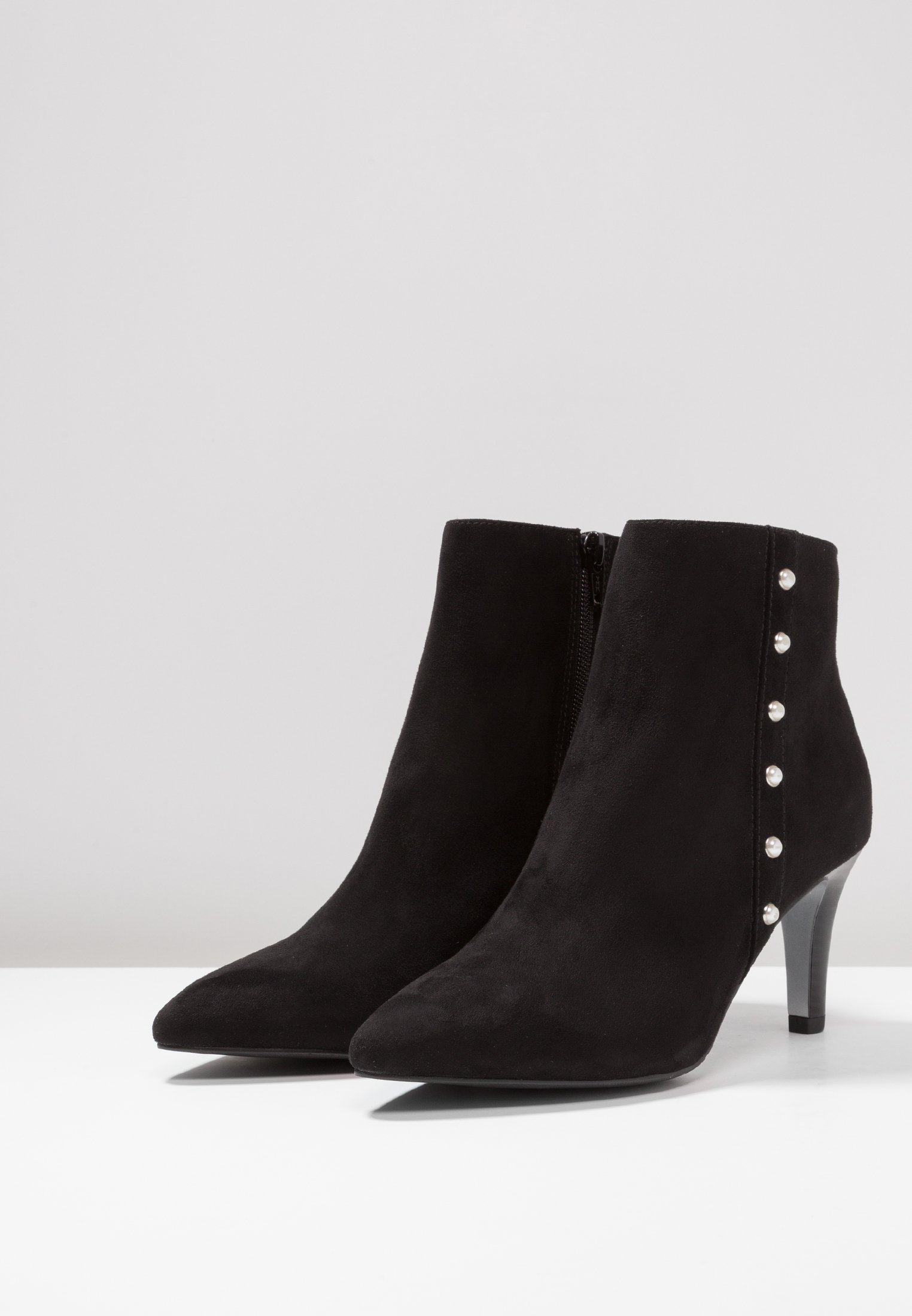 s.Oliver Boots à talons black